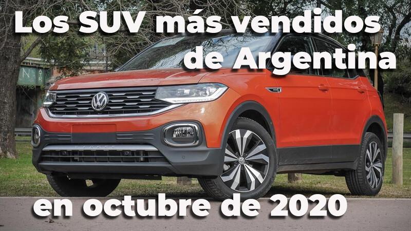 Top 10 Los SUV más vendidos de Argentina en octubre de 2020