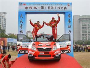 Skoda Triunfa en Rally Asia-Pacífico