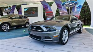 Ford Mustang 2013 debuta en el Concurso de la Elegancia