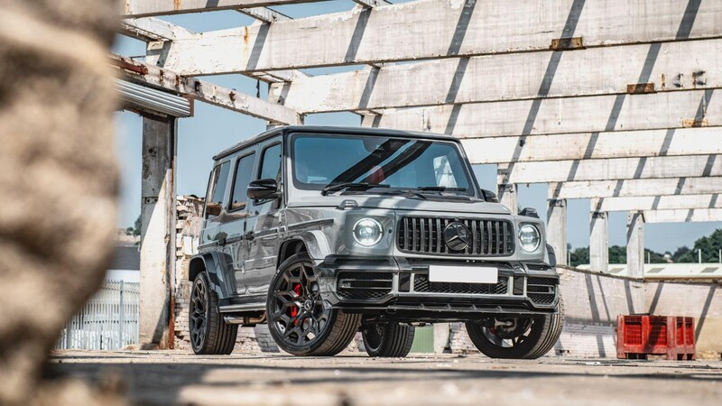Mercedes-Benz G-Class Carbon Wide Track Edition, una edición especial cubierta de fibra de carbono