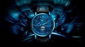 Siente el azul del Regulator Classic Blue Steel, de Chronoswiss