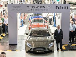 Inicia la producción del Aston Martin DB11