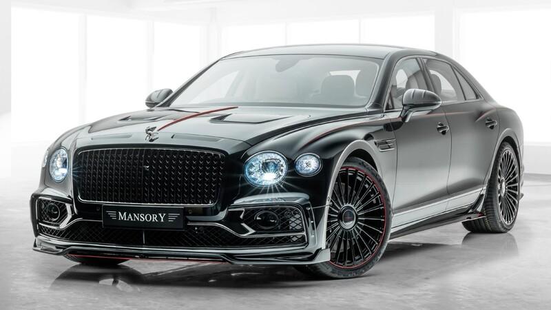 Bentley Flying Spur por Mansory: El sedán lujoso se hace deportivo