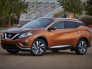 Nissan Murano 2015 tiene un precio inicial de 29,560 dólares