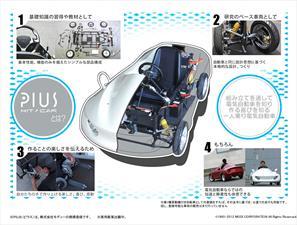 Pius, un coche eléctrico para armar