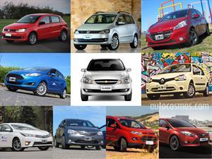 Top 10 los autos más vendidos en octubre de 2014