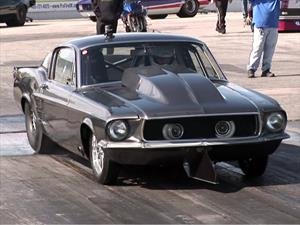 Ford Mustang Helleanor con más de 2,000 hp