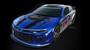Este es el nuevo Chevrolet Camaro para la temporada 2020 de la NASCAR en Estados Unidos