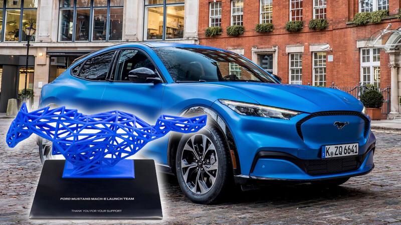 Los compradores del Ford Mustang Mach-E First Edition reciben esta belleza de colección