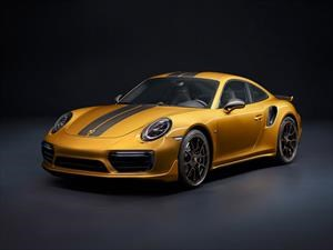 Porsche 911 Turbo S Exclusive Series, sueños dorados