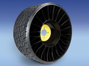 Michelin fabricará la Tweel, una revolucionaria cubierta sin aire