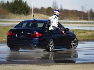 BMW M5 impone records de drifting