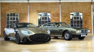 Aston Martin DBS Superleggera, al servicio de Su Majestad