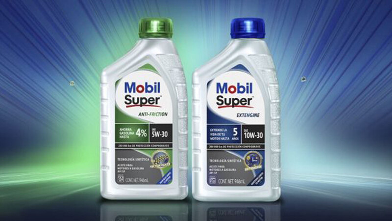 Mobil introduce nuevos aceites sintéticos para motor que prometen ahorrar gasolina