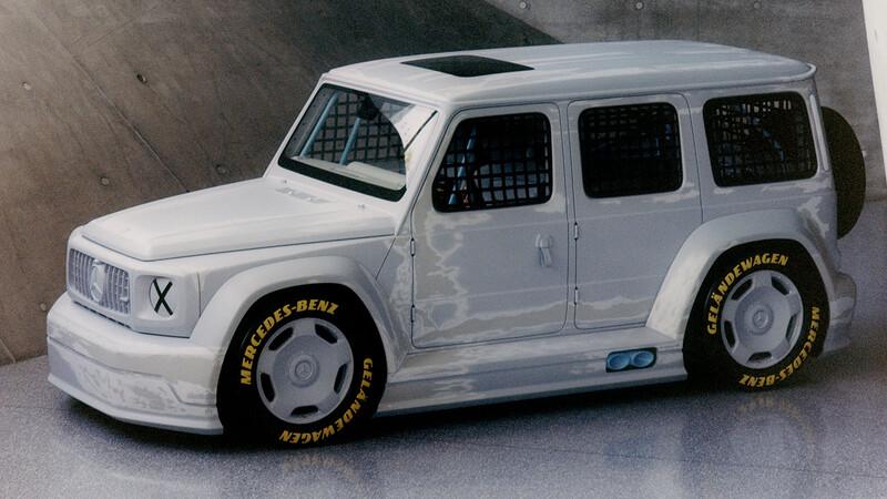 Mercedes-Benz Clase G de competición: ¿Te lo imaginábas así?