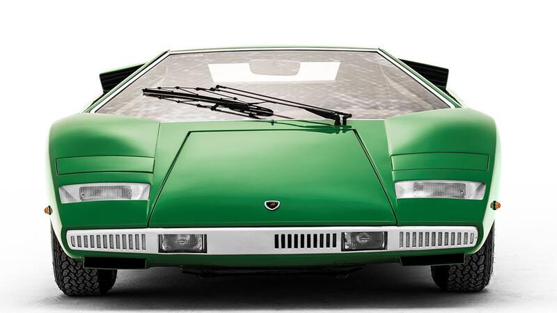 Lamborghini Countach, un auto que no pasa de moda en diseño