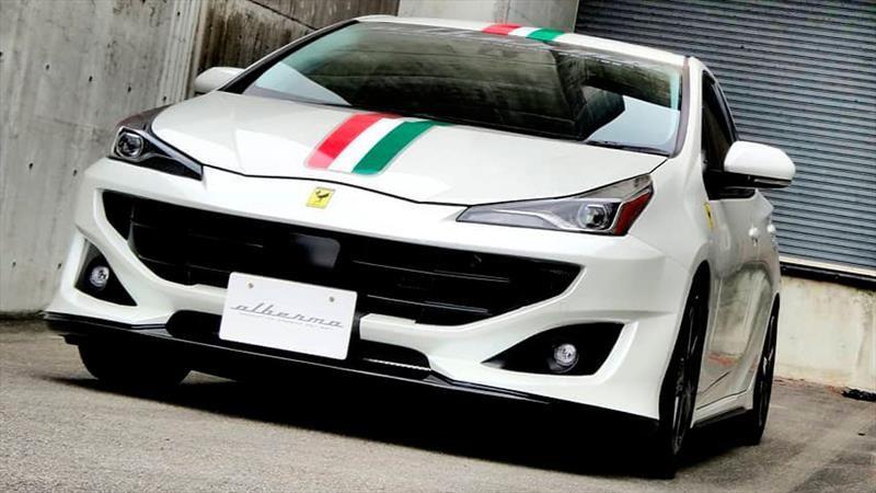 ¿Cómo ves al Toyota Prius con apariencia de Ferrari?