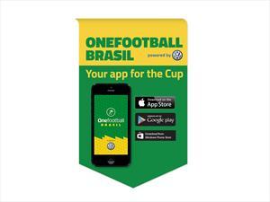 Onefootball Brasil powered by VW, la app mundialista de la firma teutona