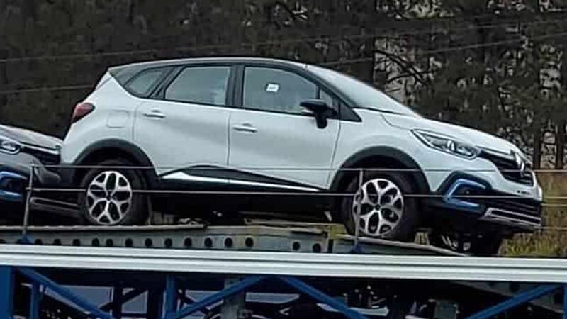 Nuevo Renault Captur pescado en Brasil