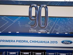 Ford coloca la primera piedra de su nueva Planta de Motores en México