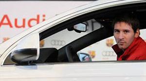Messi , Mascherano y los jugadores del Barça reciben nuevos Audi