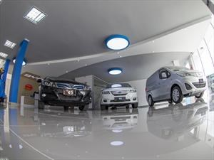 BYD exhibe su primera vitrina de carros 100% eléctricos