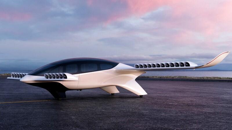 Este taxi-jet eléctrico despega y aterriza en vertical