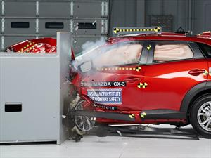 Mazda CX-3 obtiene el Top Safety Pick+ del IIHS