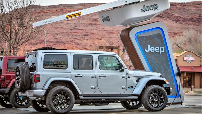 Jeep creará red de estaciones de carga en las rutas 4x4 más importantes de EU