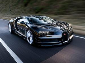 Bugatti Chiron es un auténtico misil
