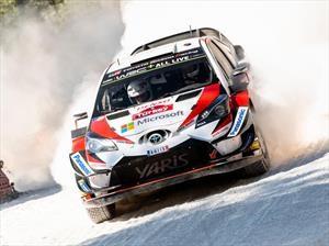 Toyota y Tanak ganan el Rally de Turquía 2018