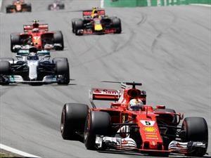 F1 2017 GP de Brasil: Vettel se acordó de ganar
