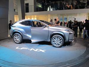 Lexus LF-NX Crossover Concept renueva motorización