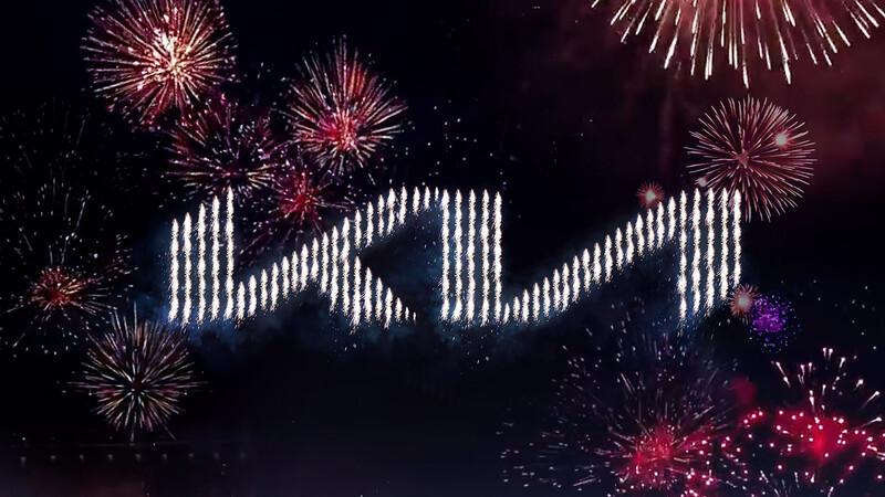 Kia entra a los Record Guinness por la presentación de su nuevo logo en Corea