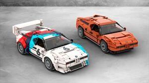 BMW M1, clásicos a escala con fichas de LEGO