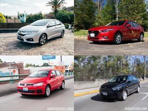 Los 30 vehículos más vendidos en México durante 2016