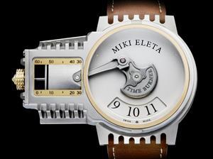 Este reloj rinde homenaje a los motores de combustión interna