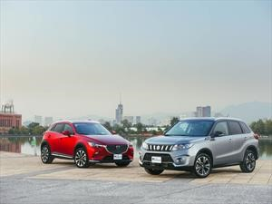 Frente a frente: Mazda CX-3 vs Suzuki Vitara, duelo de SUVs japonesas