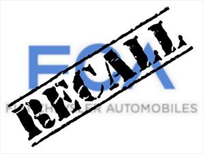 Recall de FIAT Chrysler Automobiles a 1.1 millones de vehículos