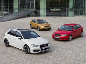 El Audi A3 celebra sus primeros 20 años