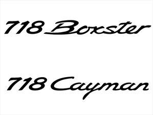 Porsche Cayman y Boxster, ahora bajo la designación 718