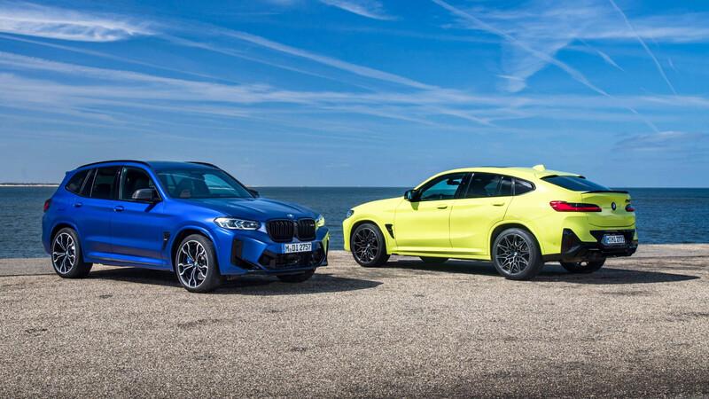 BMW X3 M y X4 M Competition 2022: Interior renovado (casi) por completo