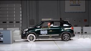 FIAT 500L 2014 gana Top Safety Pick + del IIHS