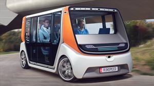 Rinspeed MetroSnap es una nueva propuesta de vehículos autónomos, modulares y urbanos
