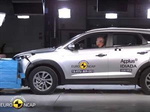 Hyundai Tucson 2016 obtiene cinco estrellas en las pruebas de choque de la Euro NCAP