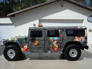 Dennis Rodman pone a la venta su Hummer H1