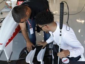 Charaf, el fanático ciego de la F1 que cumplió su sueño