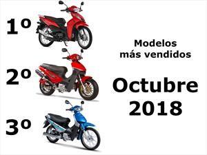Top 10: Los modelos de motos más vendidos en el mes de octubre 2018