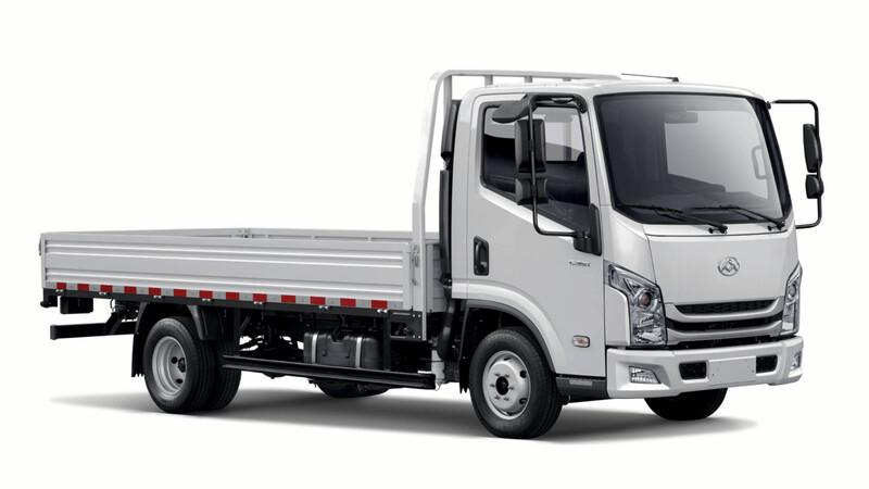 Maxus lanza en Chile un nuevo camión ligero