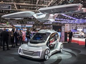 Audi Pop Up Next, el auto volador que transformará la movilidad en las ciudades